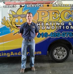 Oleg, Peck HVAC technician